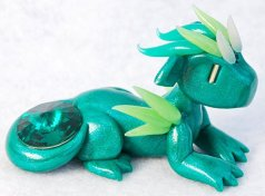 - May Birthstone Dragon