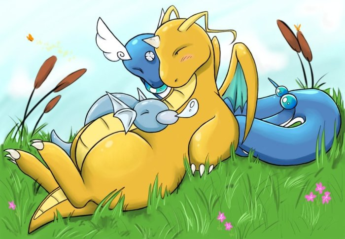 dratini_and_company_by_deft_hands-d4c7qes