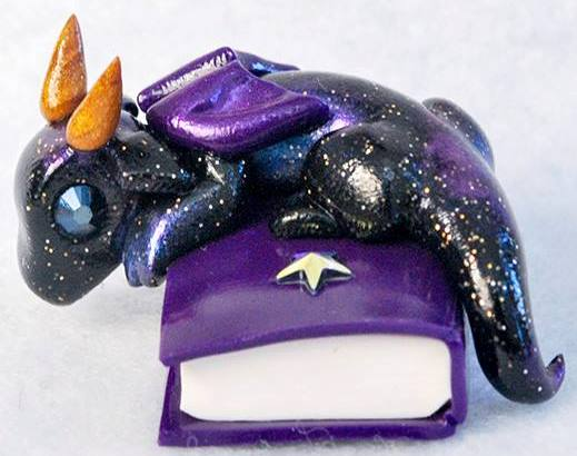 Galaxy Purple Book Baby