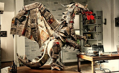 big-origami-newspaper-dragon~2