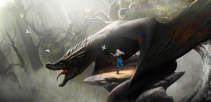daenerys_and_drogon___game_of_thrones_fan_art_by_nell_fallcard-d8l3utq