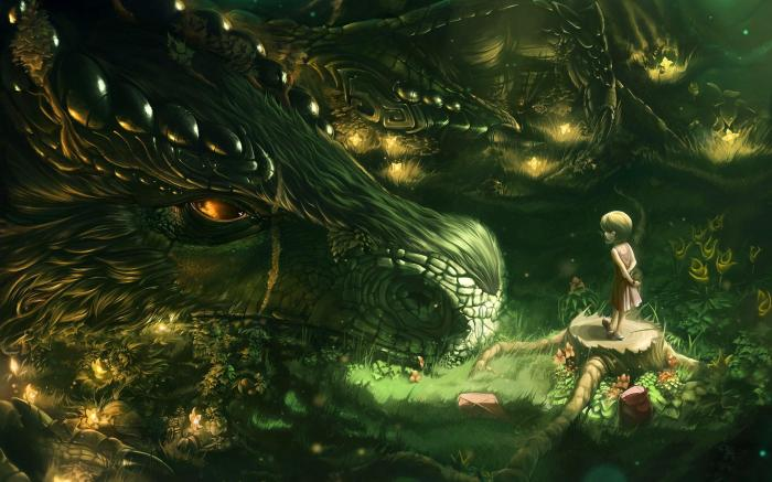 dragon-girl-forest-art (1)