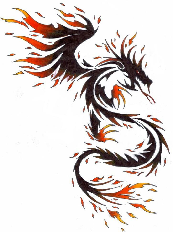 Fire Dragon by kitsune-lunar-rose   Writing Dragons