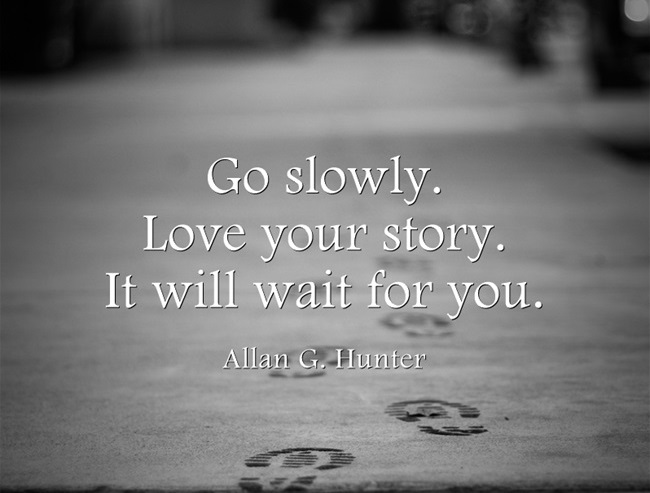 Allan G. Hunter Quote