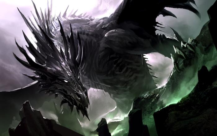 Black Dragon by Kekai Kotaki