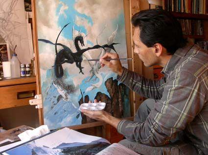 Ciruelo Cabral - Painting