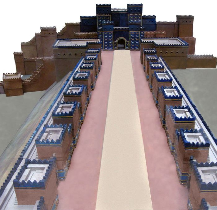 Ishtar Gate Model