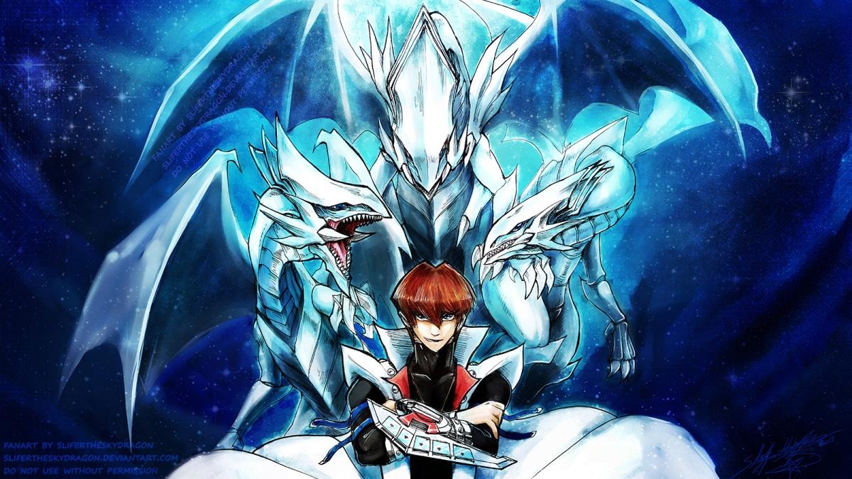 atoz b is for blue eyes white dragon by slifertheskydragon