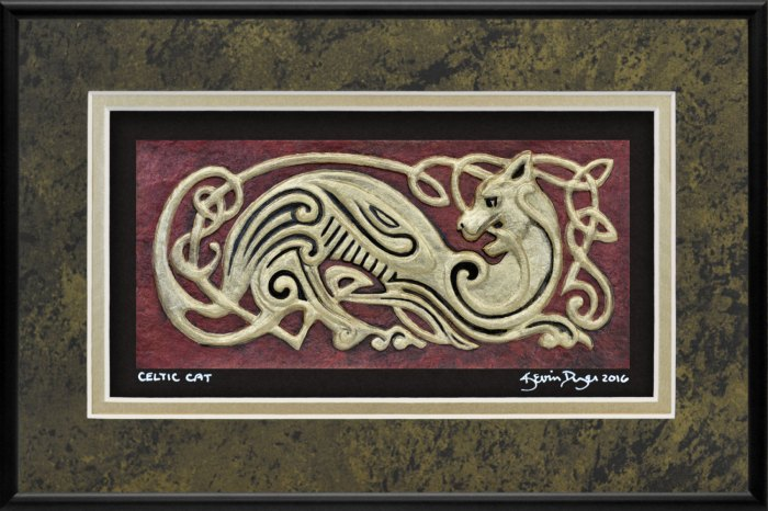 Celtic Cat - Kevin Dyer 2016
