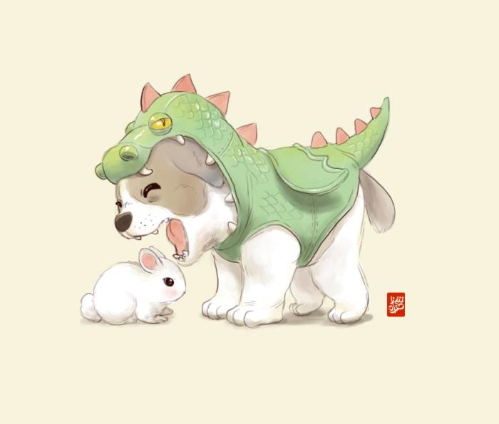 dragon_puppy_by_sheharzad_arshad-d8o276f