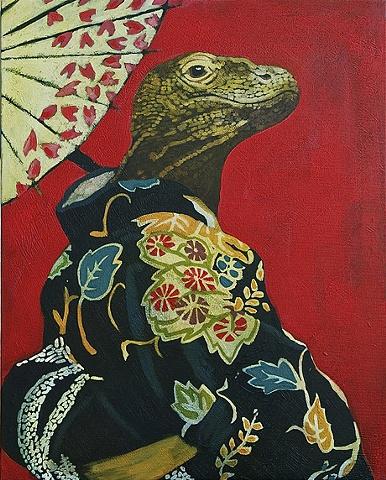 Kimono Dragon by Trisha Oldfield