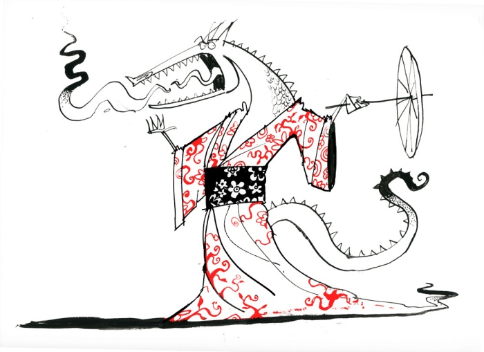 kimono-dragon