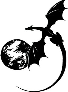 tattoo_of_flying_black_dragon_and_the_moon