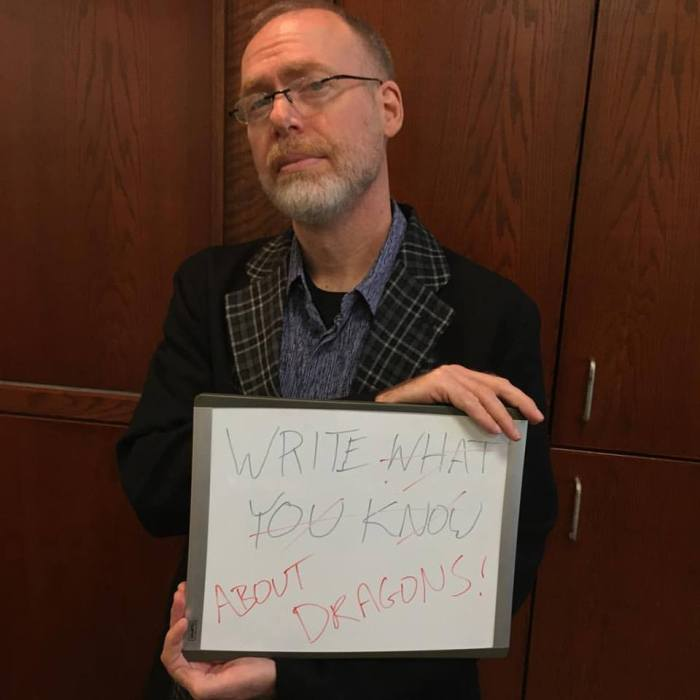 Scott Westerfeld - Write what you know about dragons