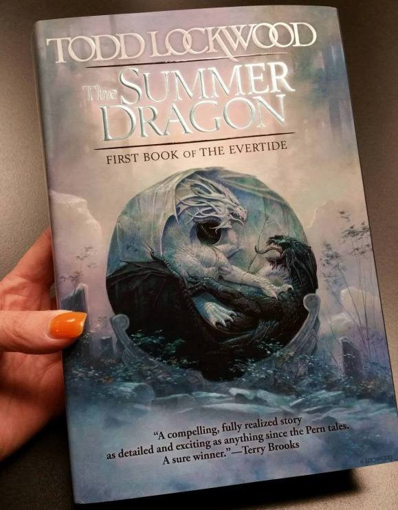 Todd Lockwood - The Summer Dragon Book