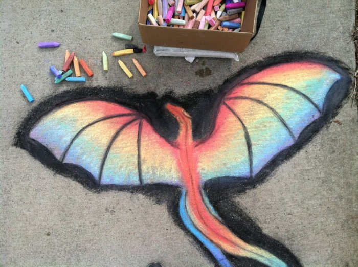 rainbow_dragon_chalk_art_by_crystalcircle