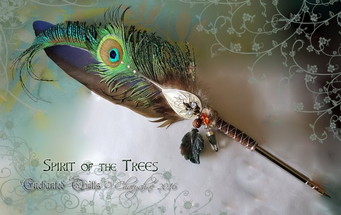 Spirit of the Trees pen by ChaeyAhne SiverFox