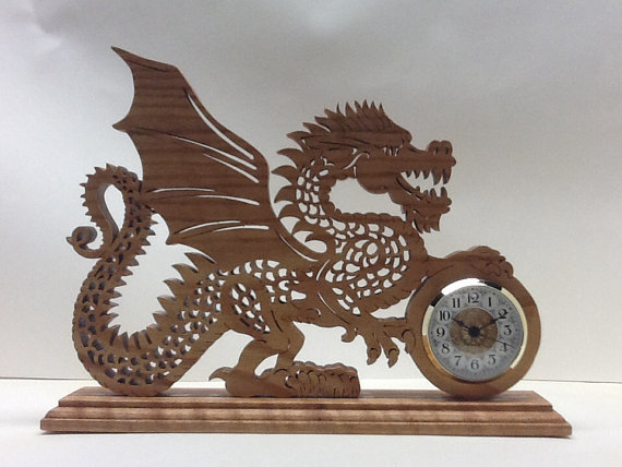 Dragon Clock by Joseph Trafficante