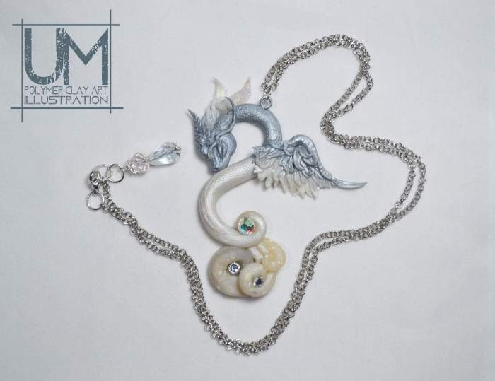 Air Elemental Dragon Pendant by Umberto M.jpg
