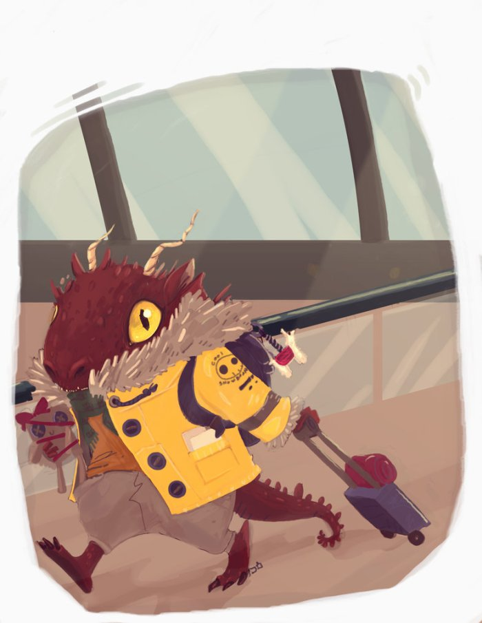 dragon_at_the_airport_by_krayonred-d6i9zo0