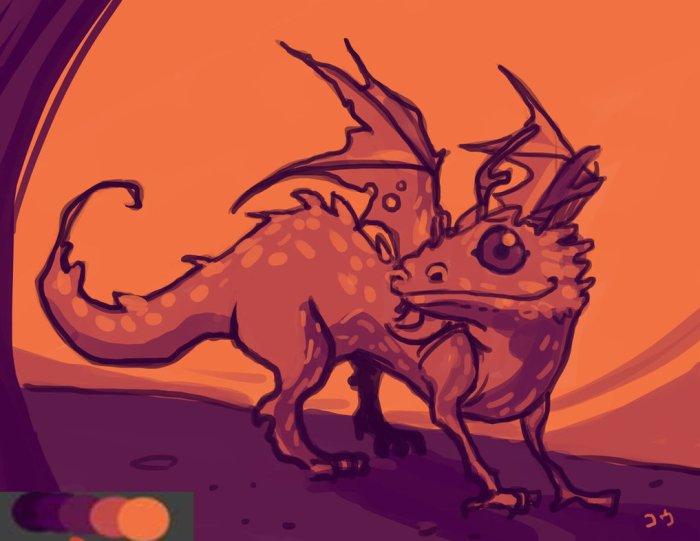 dragon_by_krayonyuu-d7vmfez