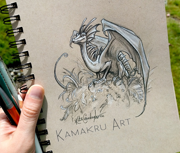Smaugust Day 10_by_kamakru