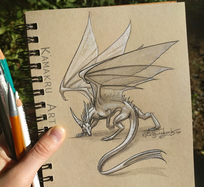 Smaugust Day 16_by_kamakru