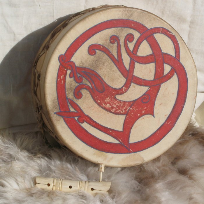 urnes_dragon_drum_by_thorskegga