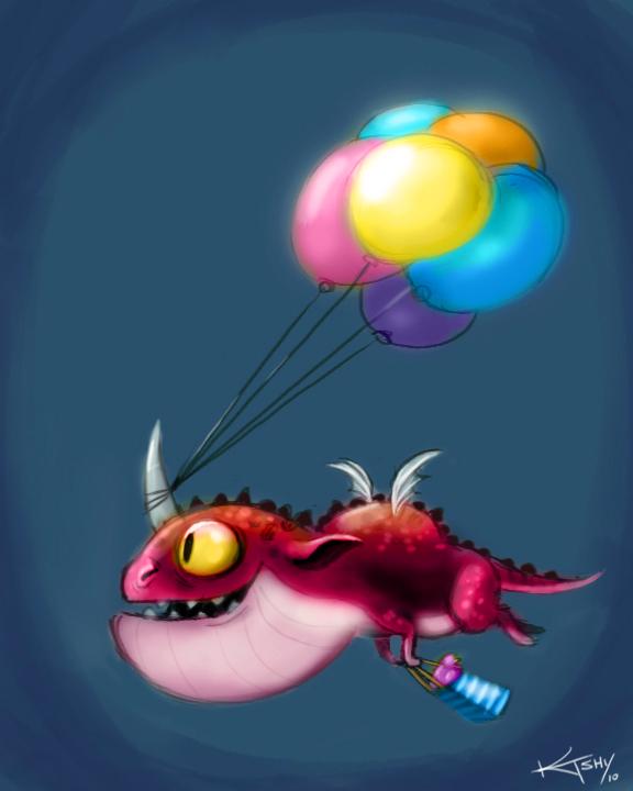 daily_doodle_birthday_dragon_by_ktshy