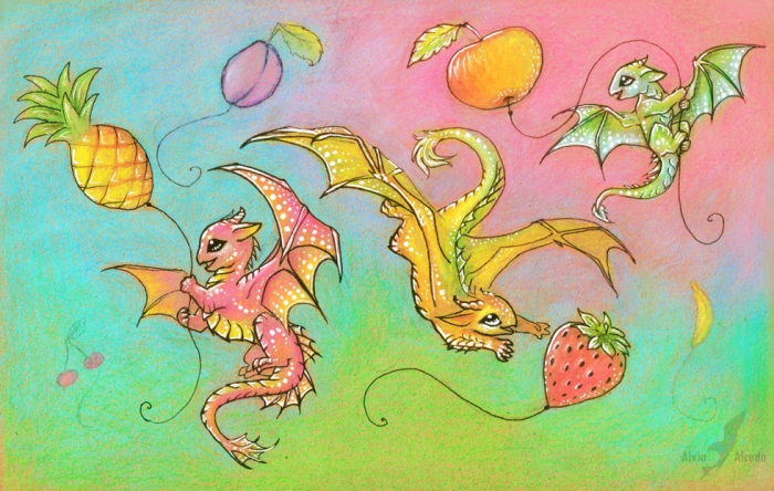 fruit_sky_happiness_by_alviaalcedo