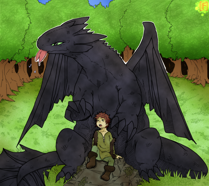 hiccup___toothless__ps_color_by_phation