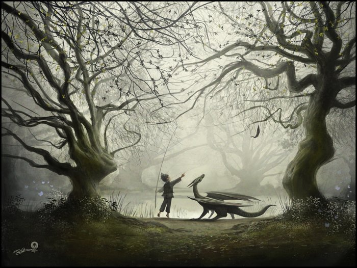 the-boy-and-his-dragon-by-andy-fairhurst