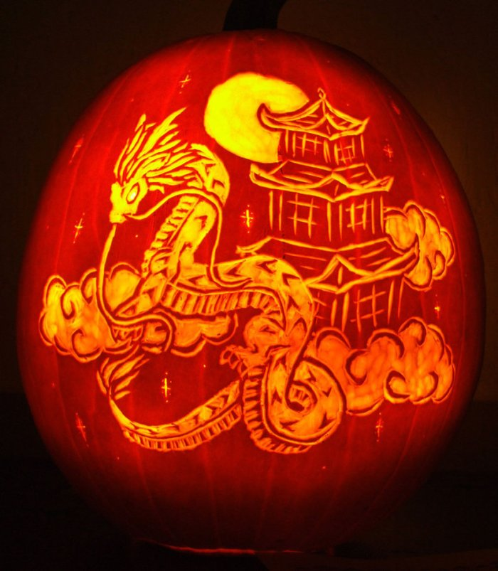 dragon_pumpkin_carving_by_ciarra