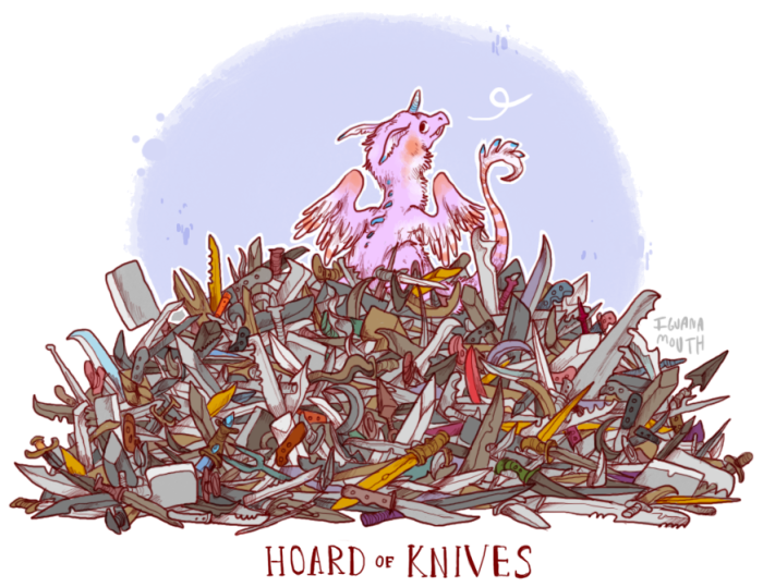 hoard-of-knives-by-iguanamouth