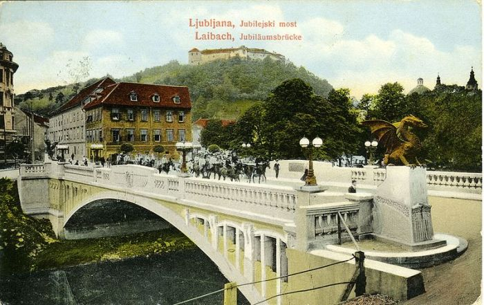 Postcards_of_the_Dragon_Bridge_in_Ljubljana_1915