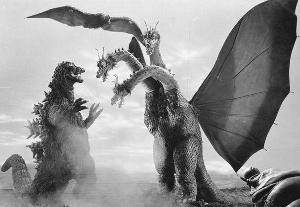 Godzilla & Ghidorah (1964) (detail)