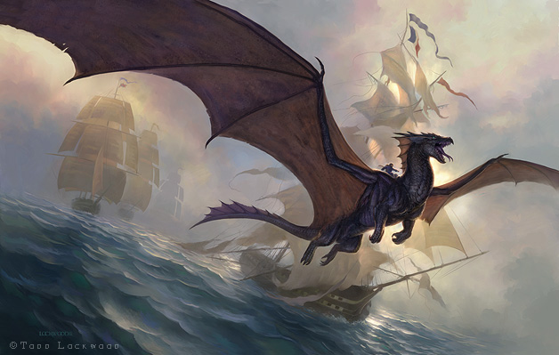 Temeraire by Todd Lockwood
