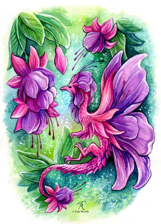 fuchsia_fairy_dragon_by_trollgirl