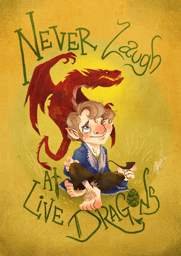 hobbit_wisdom_by_fairygodflea