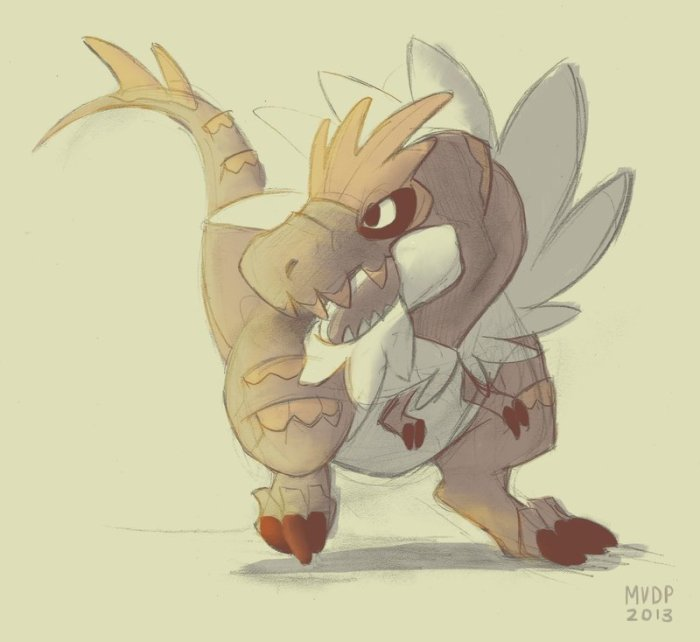 tyrantrum_by_sketchinthoughts