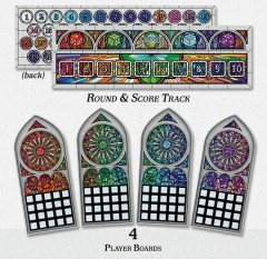 Sagrada Game Pieces (detail)