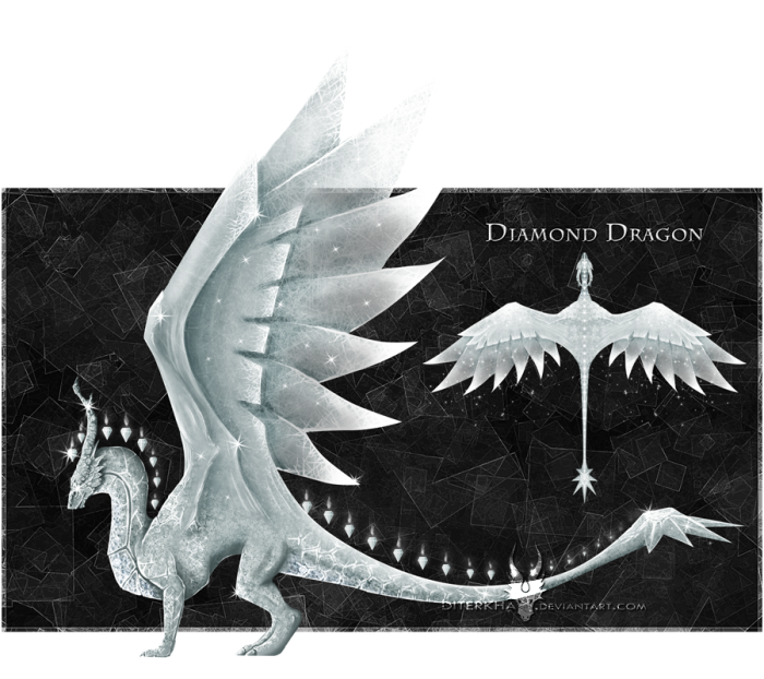 Diamond Gem Dragon by Diterkha