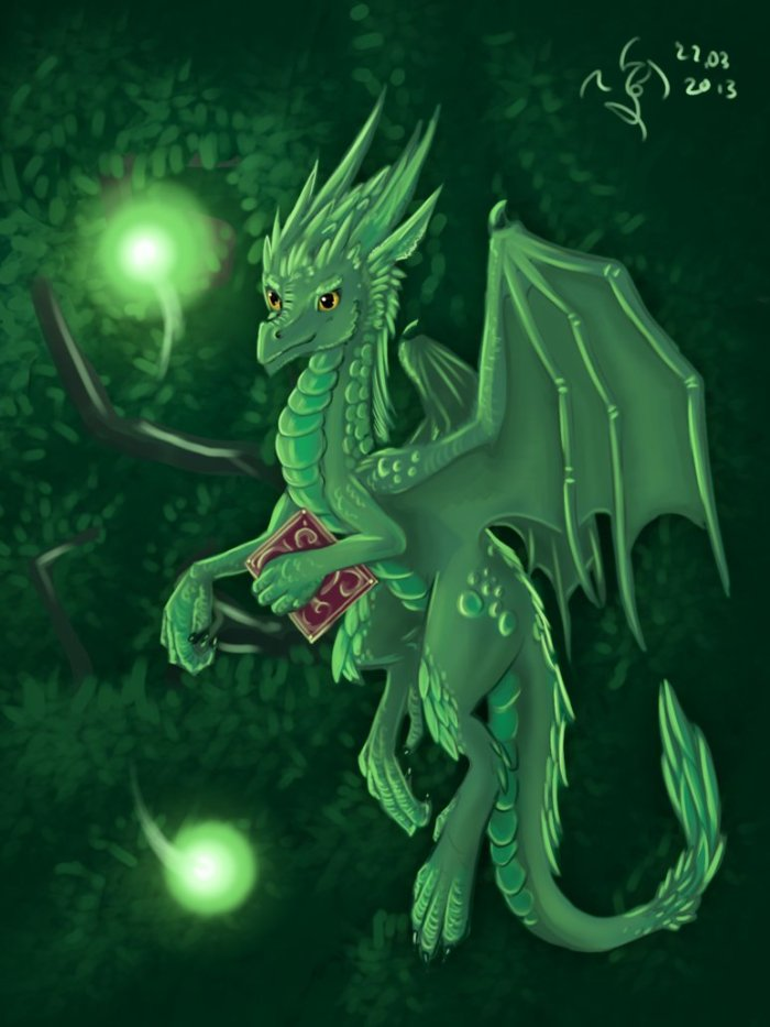 emerald_dragon_by_dalagar
