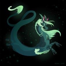 Dragon-a-Day 140 Alexandrite by Mythka