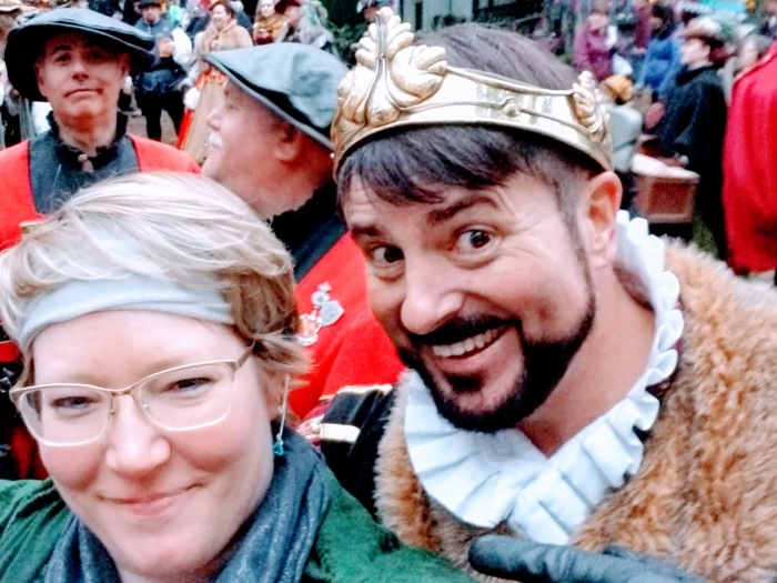 King Henry and Me Selfie 9-29-18