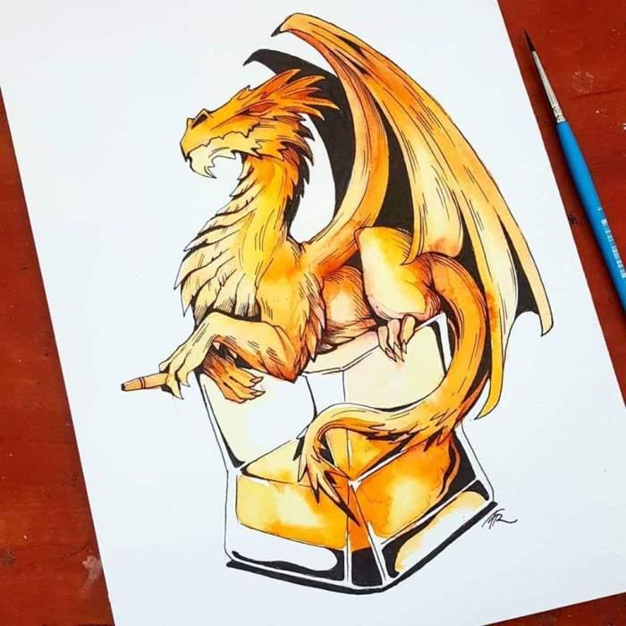 Whiskey Dragon by Taly Reznik