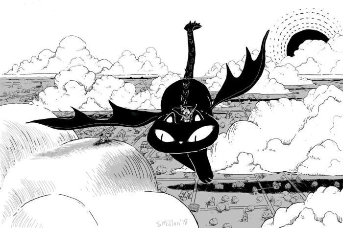 cat_dragon_flying_by_sebreg