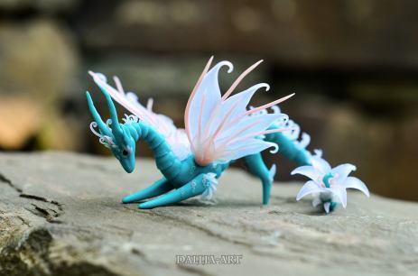 BJD_Turquoise_Fairy_Dragon (2) by dallia-art
